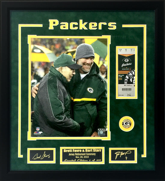 Green Bay Packers-Brett Favre Jersey Retirement