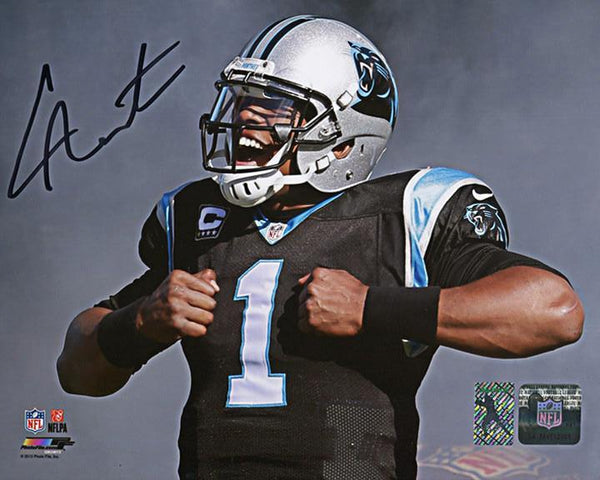 Carolina Panthers-Cam Newton Autographed 8x10 Photo NFL MVP