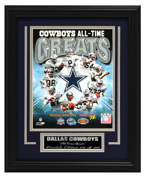 Dallas Cowboys-All-Time Greats Limited Edition Collage FTSA121