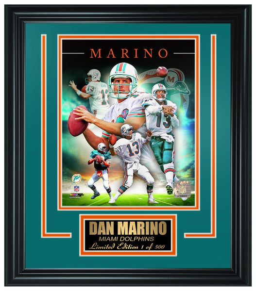 Miami Dolphins Dan Marino Limited Edition Frame FTSQC159