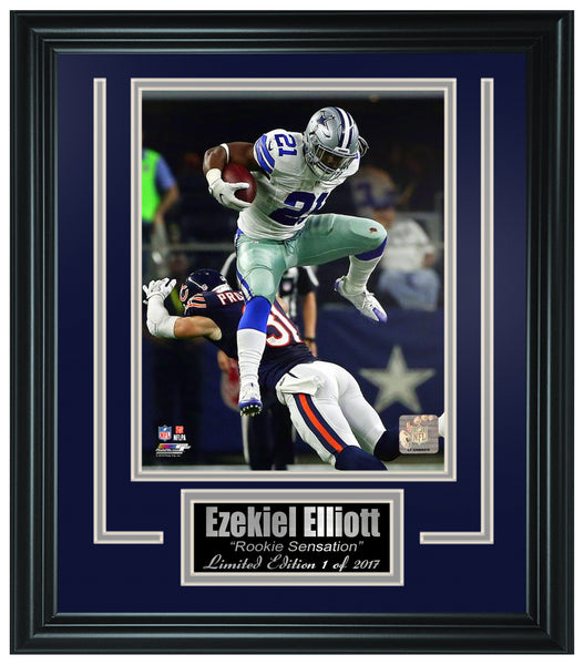Dallas Cowboys -Ezekiel Elliott 8X10 Frame Photo FTSTJ088