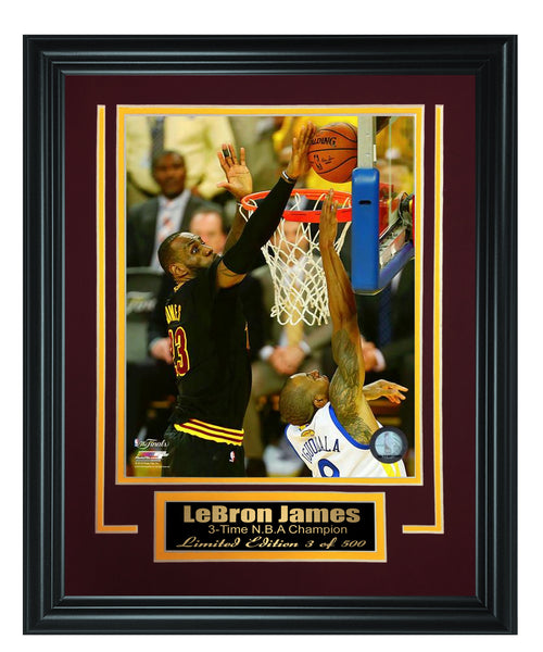 NBA Cavaliers -LeBron James 8x10 Framed FTSTC177