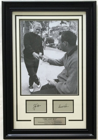 Golf-The Bet-Nicklaus & Palmer - National Memorabilia