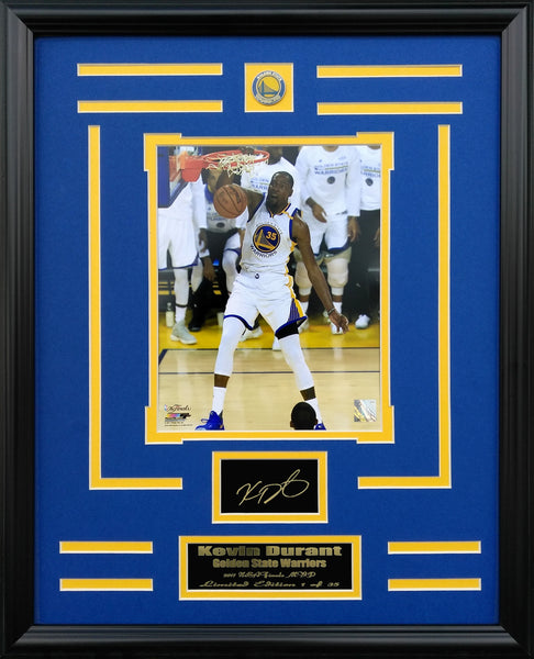 Golden State Warriors-Kevin Durant Engraved Signature Collage FTSE059ES