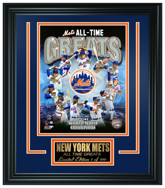 New York Mets All-Time Greats Limited Edition Frame FTSSQ159