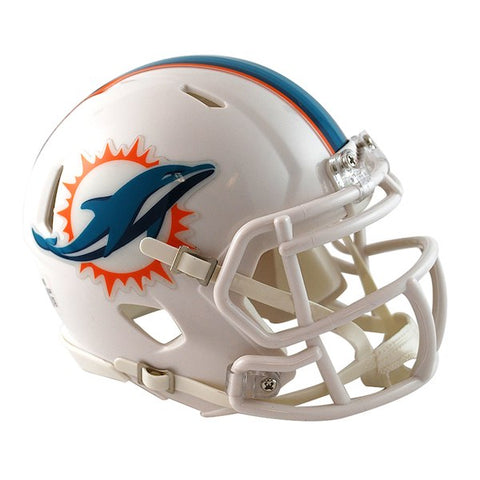 Miami Dolphins Throwback 2013-2017 Revolution Speed Full-Size Authentic Football Helmet