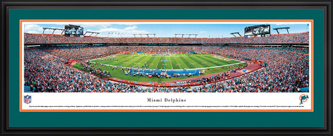 Dolphins-Stadium Panoramic - National Memorabilia