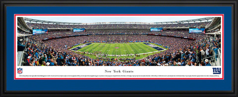 Giants-Stadium Panoramic - National Memorabilia