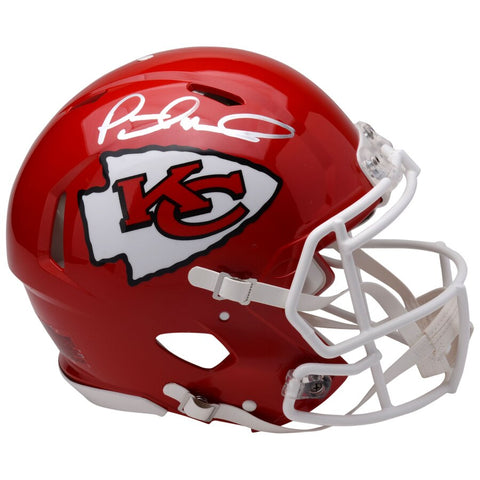 Patrick Mahomes Kansas City Chiefs Autographed Riddell Speed Authentic Helmet
