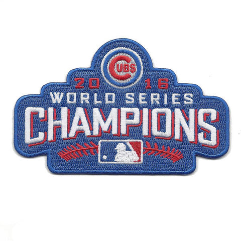 Chicago Cubs 2016 World Series Champions Patch - National Memorabilia