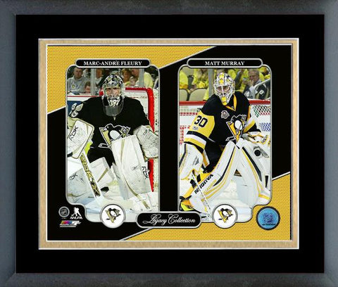 Penguins-Marc-Andre Fleury & Matt Murray Legacy Collection