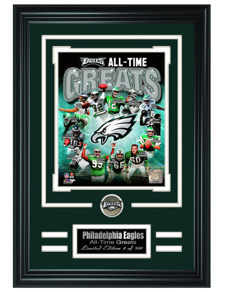 Philadelphia Eagles- All-Time Greats Limited Edition Collage