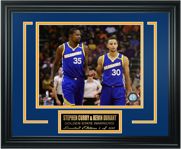 Golden State Warriors Stephen Curry and Kevin Durant Limited Edition Frame. FTSTN235
