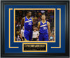 Golden State Warriors Stephen Curry and Kevin Durant Limited Edition Frame. FTSTN235 - National Memorabilia