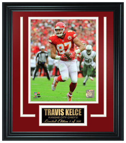 Kansas City Chiefs Travis Kelce Limited Edition Frame FTSTK124