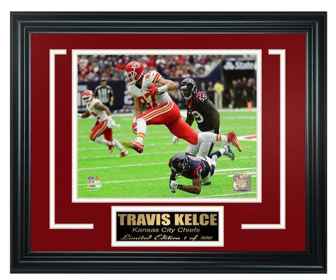 Kansas City Chiefs Travis Kelce Limited Edition Frame  FTSTK125
