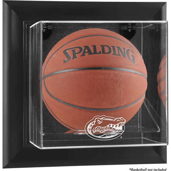 Florida Gators Black Framed Wall-Mountable Basketball Display Case