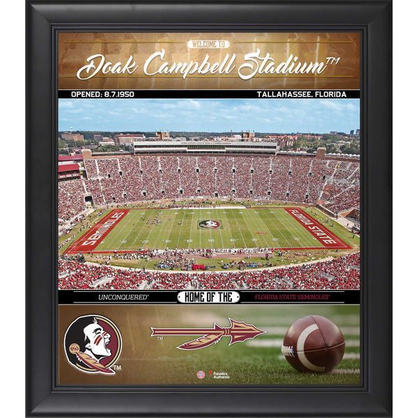 "Florida State Seminoles Framed 15"" x 17"" Welcome Home Collage"