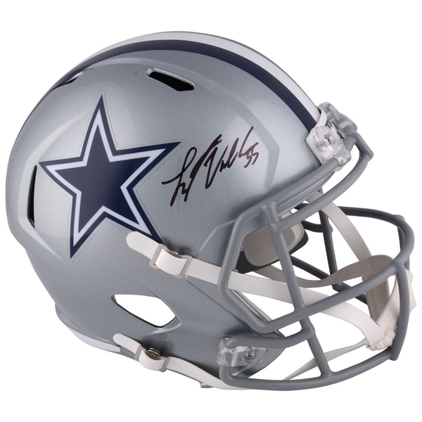 Leighton Vander Esch Dallas Cowboys Autographed Riddell Speed Replica Helmet