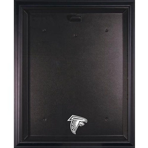 Falcons Black Framed Jersey Display Case - National Memorabilia