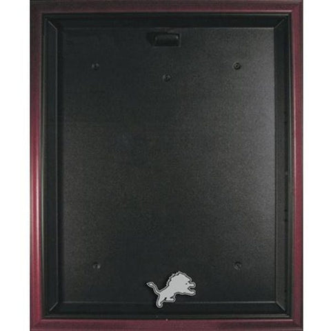 Lions Mahogany Framed Jersey Display Case
