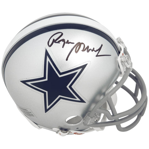 Roger Staubach Dallas Cowboys Autographed Riddell Mini Helmet