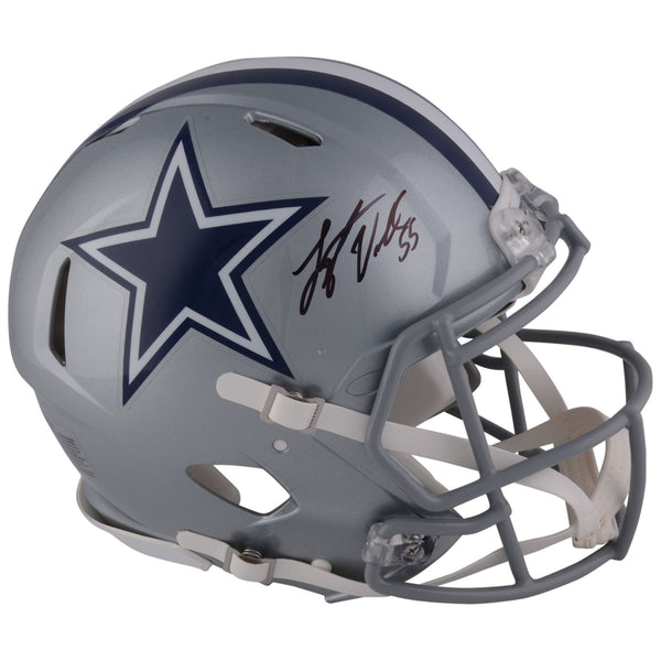 Leighton Vander Esch Dallas Cowboys Autographed Riddell Speed Authentic Pro-Line Helmet