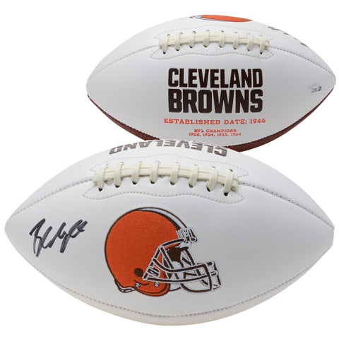 Baker Mayfield Cleveland Browns Autographed White Panel Football