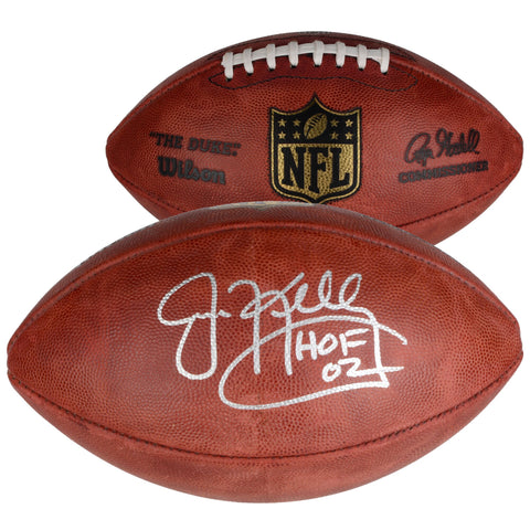 "Jim Kelly Buffalo Bills Autographed Pro Football with ""HOF 02"" Inscription"
