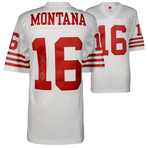 Joe Montana San Francisco 49ers Autographed Jersey Montana Authenticated