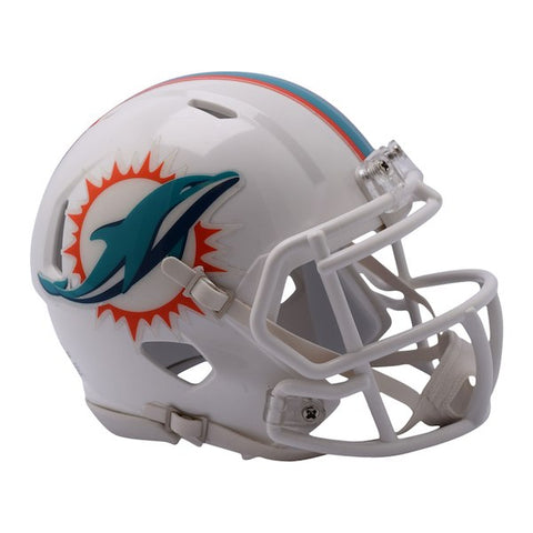 Riddell Miami Dolphins Revolution Speed Mini Football Helmet