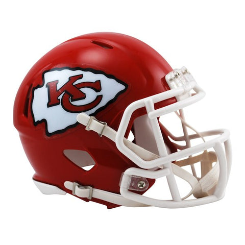 Riddell Kansas City Chiefs Revolution Speed Full-Size Replica Football Helmet