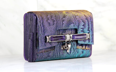 Lux Mini Cross Body Bag - Holographic Moire