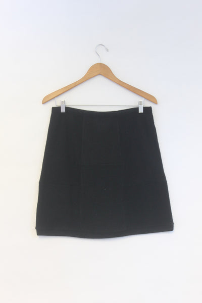 Block Skirt Black - Large