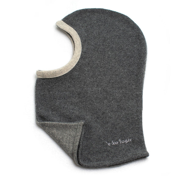 Balaclava BA0006 Grey w/ White - Medium