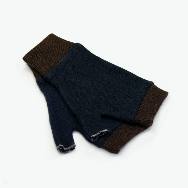 Cuffs CF0003 Blue w/ Brown - Medium