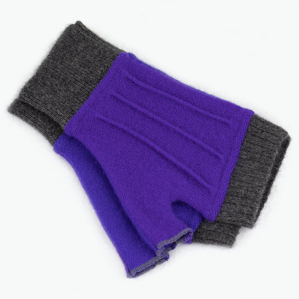 Cuffs CF0105 Purple, Blue w/ Grey - Medium