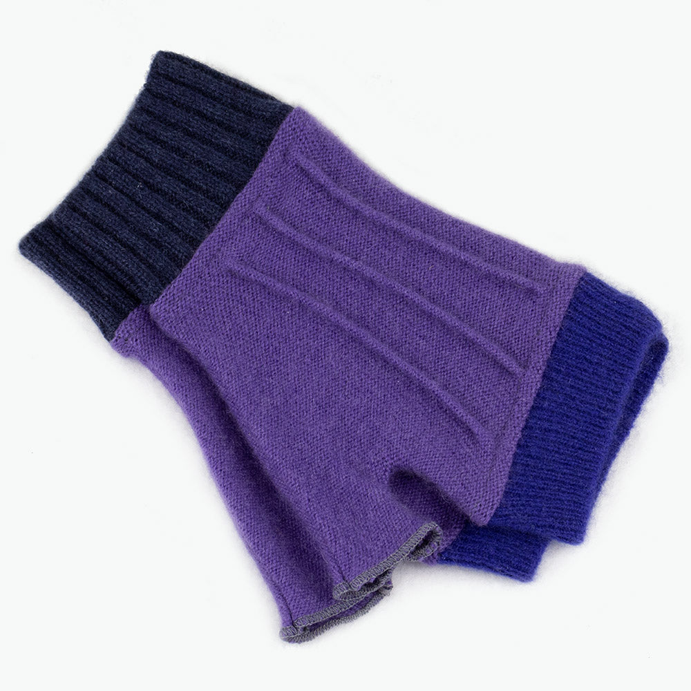 Cuffs CF0119 Purple w/ Blue - Medium