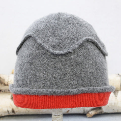 Gazebo Hat GZ9038 Grey w/ Red-Orange