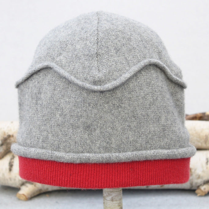 Gazebo Hat GZ9056 Grey w/ Red
