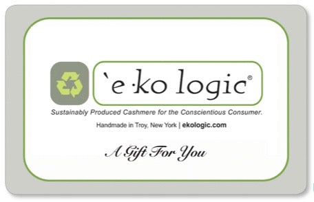 `e ko logic Gift Card - Hat & Fingerless Mitten Set