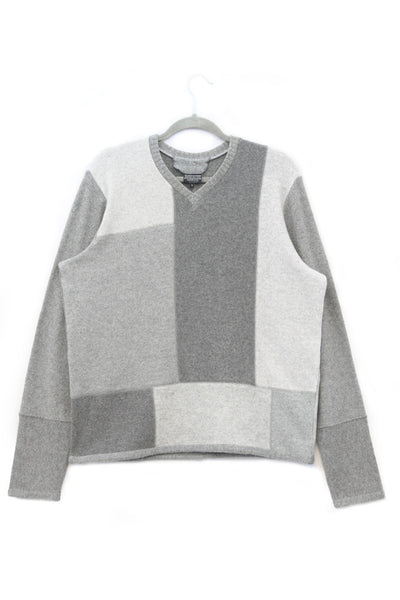 Mondrian Sweater Grey - Large