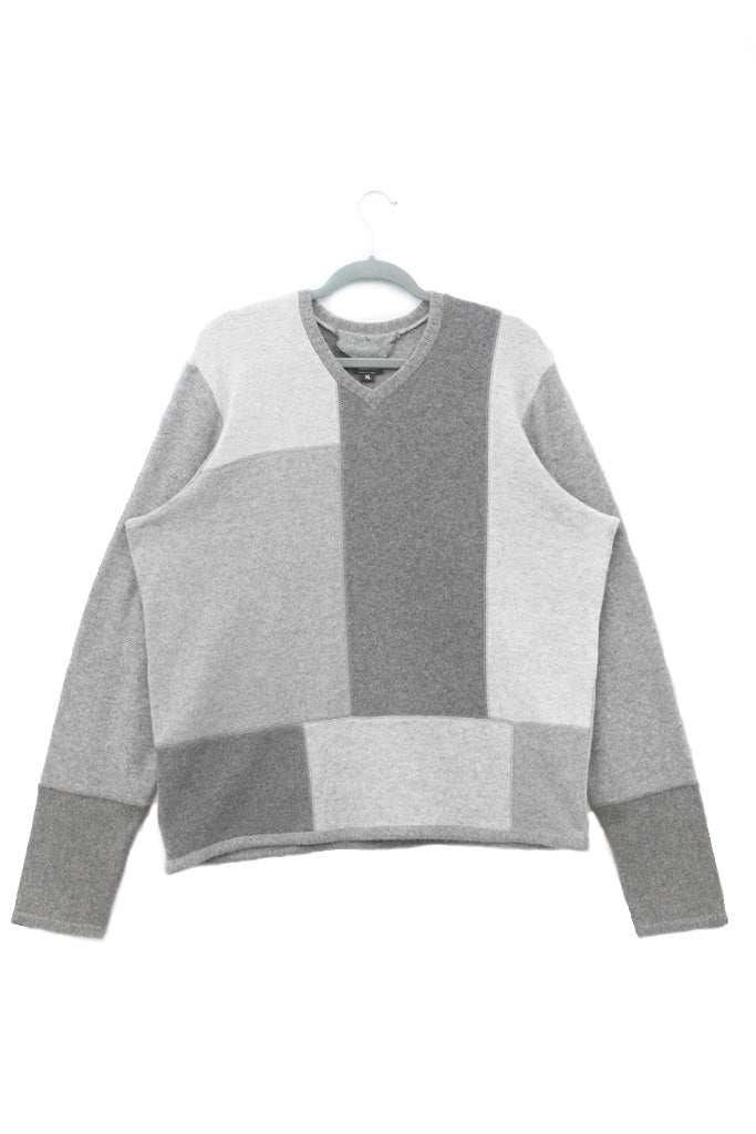 Mondrian Sweater Grey - X-Large