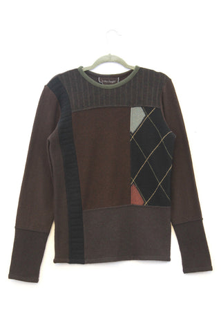 Lee Sweater Chocolate Brown - Small