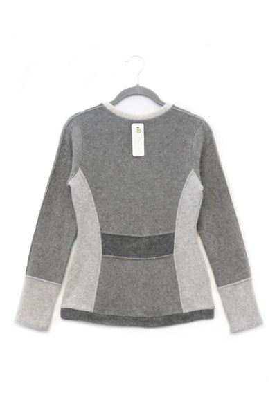 V-Neck Sweater Grey - XS