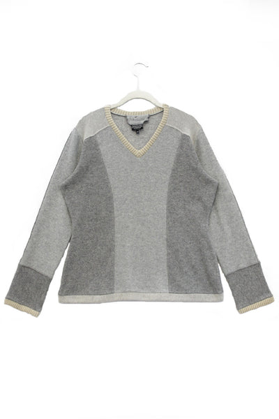 V-Neck Sweater Grey - XX-Large