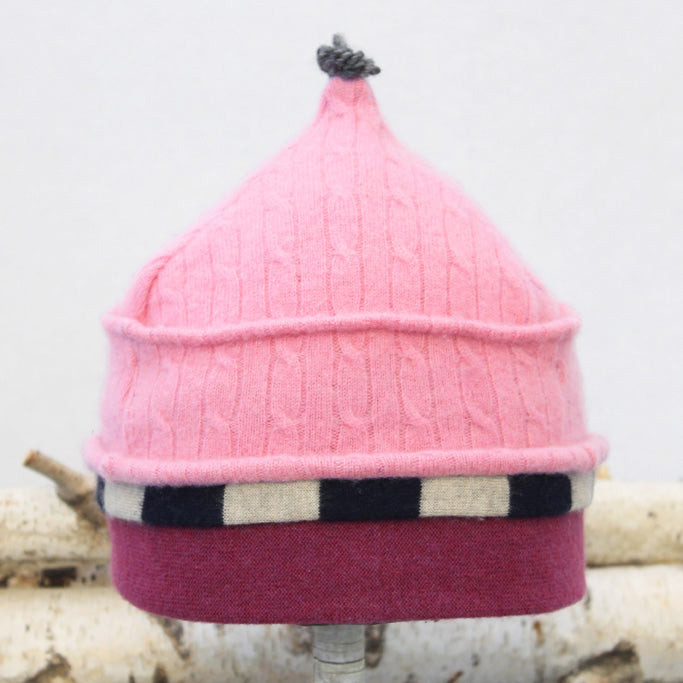 Onion Hat ON9271 Pink Cable w/ Navy