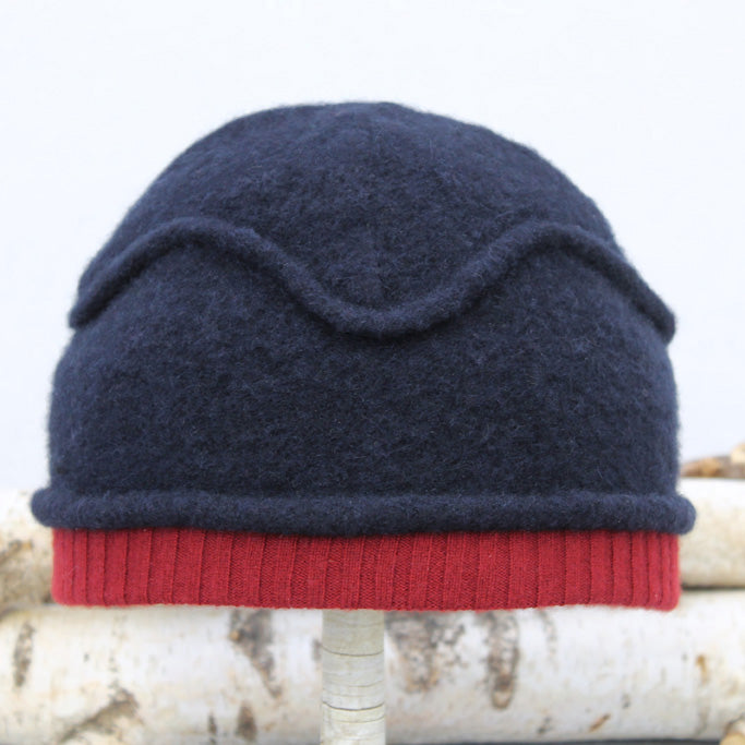 Gazebo Hat GZ9166 Navy w/ Red - Large