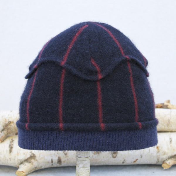 Gazebo Hat GZ9144 Navy & Burgundy Stripe