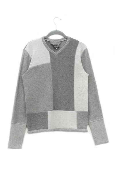 Mondrian Sweater Grey - X-Small